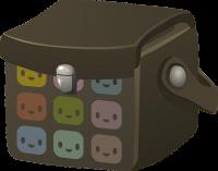 BOX THAT CONTAINS IMA ATHOL'S BRAIN