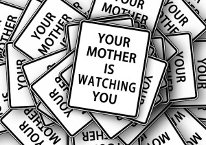 YOUR MOTHER IS WATCHING YOU SYMBOL FOR SLOP