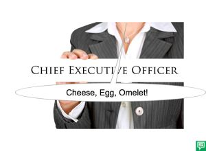 CEO CHEESE, EGG, OMELET