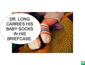 DR. LONG BABY SOCKS BUBBLE