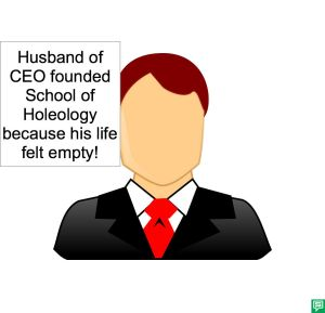 HUSBAND OF CEO LIFE EMPTY