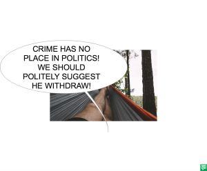 ULRIC UDDER POLITICS