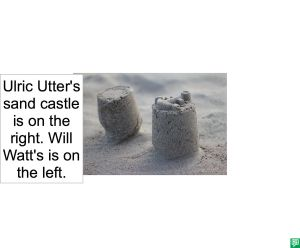 UTTER AND WATT'S SAND CASTLES
