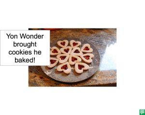 YON WONDER HEART COOKIES