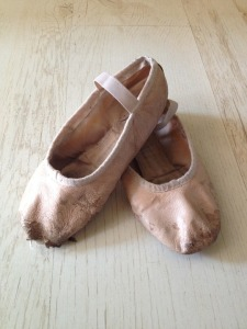 BALLET SHOES ERUPTED FROM BLACK HOLE
