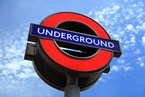 BRITISH UNDERGROUND SIGN