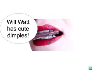 ME-JANE WATT DIMPLES
