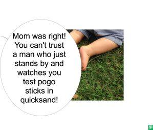 MS. LESSPARTS POGO STICKS