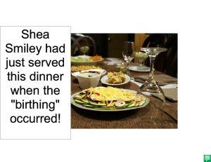 SHEA SMILEY DINNER