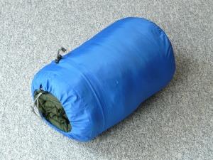 SLEEPING BAG SPEWED FROM BLACK HOLE