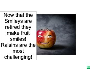 SMILEY'S FRUIT SMILES