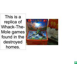 WHACK THE MOLE GAME BUBBLE