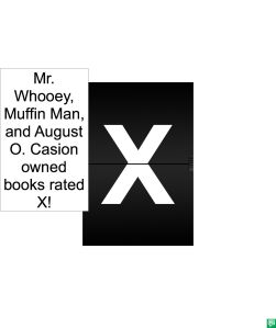 X RATED BOOKS