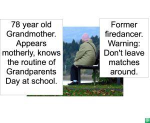 78 yr old grandmother - firedancer