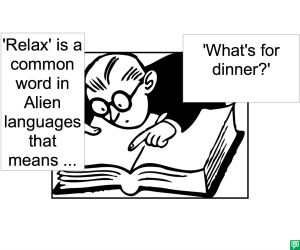 ALIEN LANGUAGE INTERPRETER