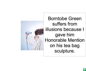 ARTIST AH BORNTOBE GREEN