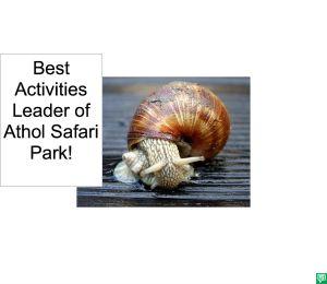 BEST ACTIVITIES LEADER OF ATHOL SAFARI PARK CORRECTION