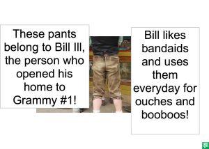 BILL ILL BANDAIDS