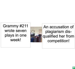 GRAMMY #211 PLAGIARISM