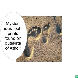 MYSTERIOUS FOOTPRINTS