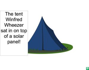 TENT WINFRED WHEEZER USED