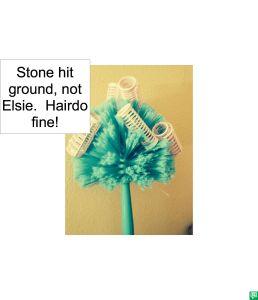 ELSIE WHAT-WHEN HAIRDO FINE
