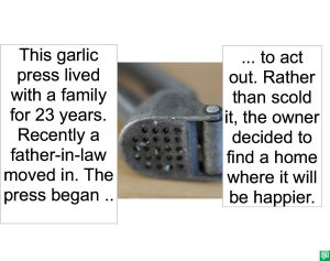 GARLIC PRESS HAPPIER