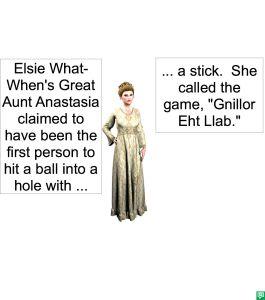 GREAT AUNT ANASTASIA & GAME