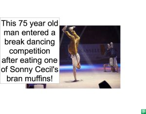 75 YEAR OLD MAN BREAK DANCING