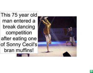 75 YEAR OLD MAN BREAK DANCING