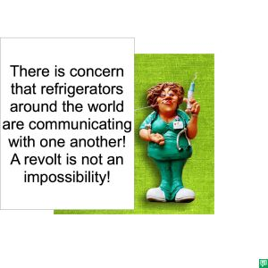 HEALTH OFFICIAL REFRIGERATORS