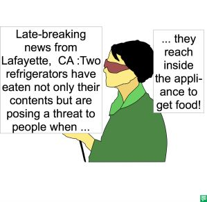 LAFAYETTE REPORTER REGRIGERATORS