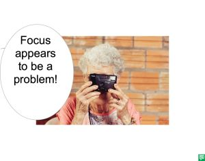 MRS. LONG FOCUS PROBLEM
