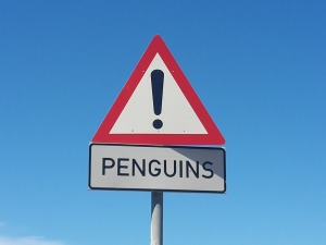 PENGUINS SIGN