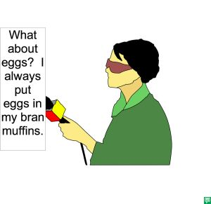 REPORTER LAF. EGGS