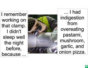WELDER CLAMP MAKER PIZZA