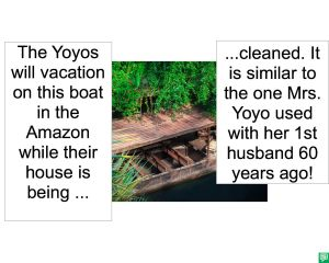 BOAT AMAZON 1ST HUSBAND