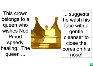 CROWN OF QUEEN CLEANSER