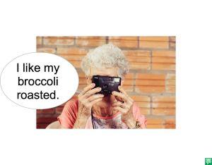 MRS. LONG BROCCOLI ROASTED