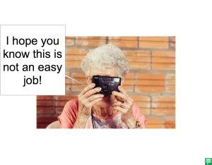 MRS. LONG NOT AN EASY JOB