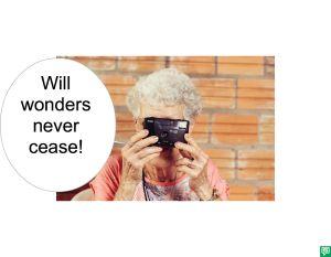 MRS. LONG WONDERS NEVER CEASE
