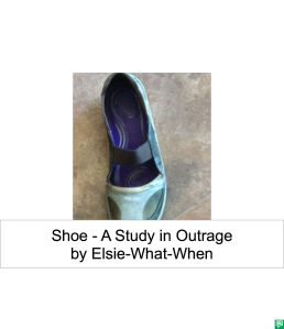 SHOE - STUDY IN OUTRAGE
