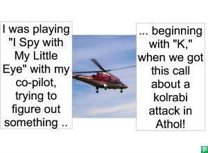 HELICOPTER PILOT KOHLRABI