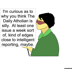 LEAD REPORTER SILLY