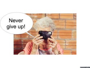 MRS. LONG NEVER GIVE UP