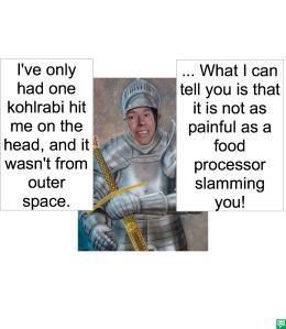 OUTER SPACE DEFENSE CLOTHES DESIGNER KOHLRABI