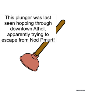 PLUNGER ESCAPING FROM NOD PMURT