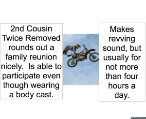 2ND COUSIN TWICE REMOVED REVVING