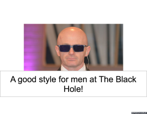 HAIR STYLE FOR MEN AT THE BLACK HOLE