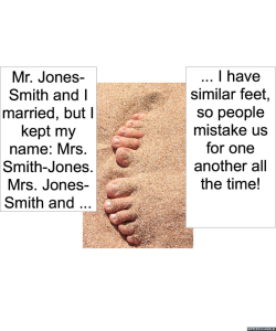 MRS. SMITH-JONES FEET